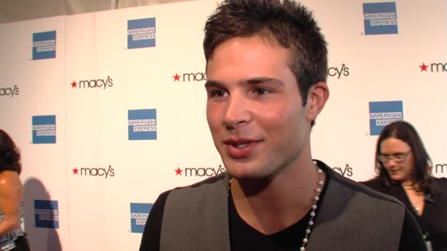 Cody Longo of 'Fame' on the event fashion at the 27th Annual Macy's Passport Fashion Show Benefit at Santa Monica CA