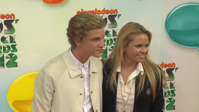 cody simpson at nickelodeon's 25th annual kids' choice awards on 3/31/2012 in los angeles, ca. - nickelodeon stock videos & royalty-free footage