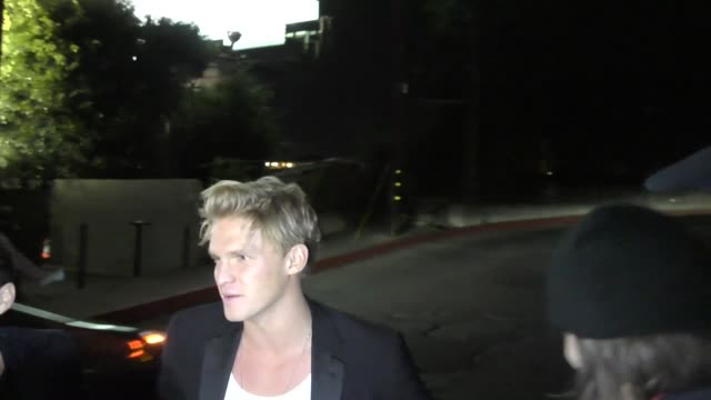Cody Simpson at the W Magazine Celebrates Its 'Best Performances' Portfolio and the Golden Globes at Chateau Marmont in West Hollywood in Celebrity...