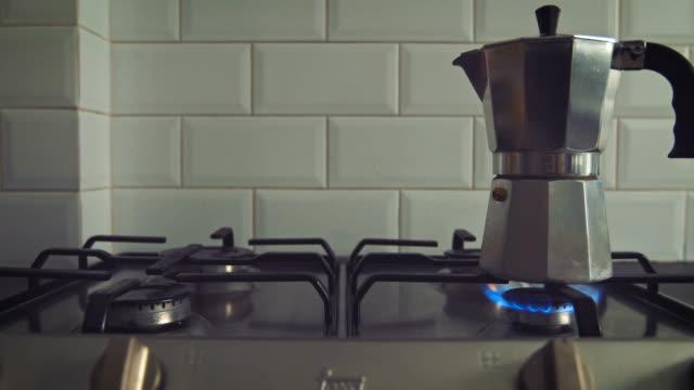 Coffe on stove