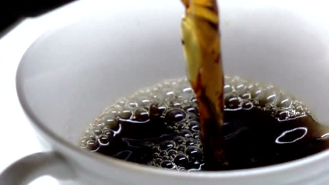 Koffie - Slow motion