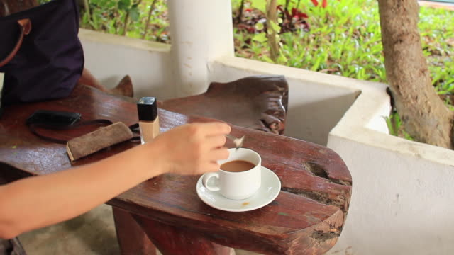 coffee and beauty - coffee drink stock videos and b-roll footage