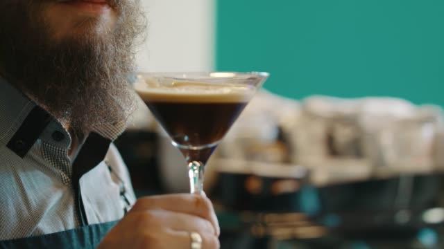 stockvideo's en b-roll-footage met koffie aperitief - koffie drank