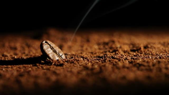 coffee bean - caffeine molecule stock videos & royalty-free footage