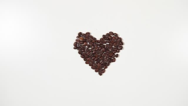 coffee beans/ debica/ poland - roasted coffee bean stock videos & royalty-free footage