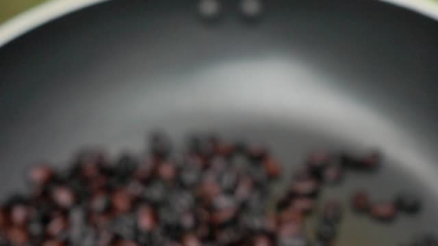 coffee beans slow motion - coffee drink stock videos & royalty-free footage