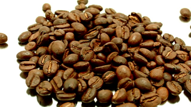 coffee beans - caffeine molecule stock videos & royalty-free footage