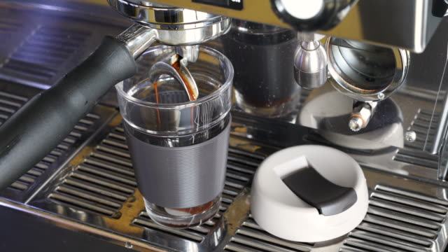 coffee being made with reusable coffee cup - reusable stock videos & royalty-free footage
