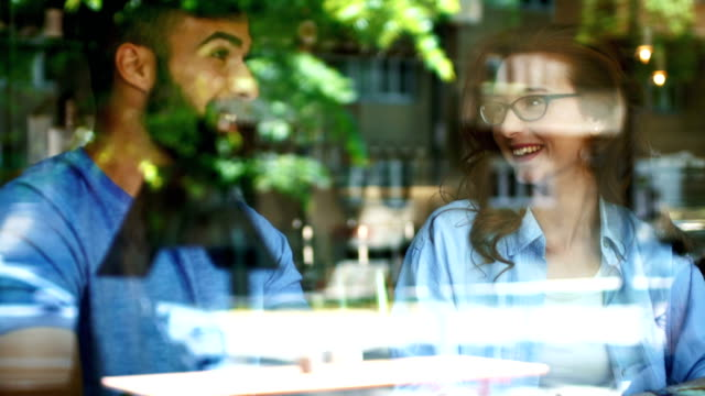 coffee break conversation. - beard stock videos & royalty-free footage
