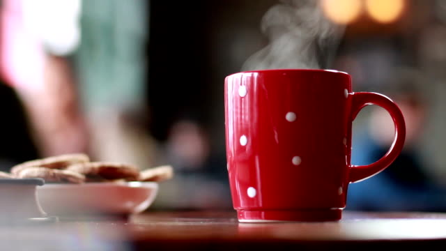 coffee break - tea hot drink stock videos & royalty-free footage