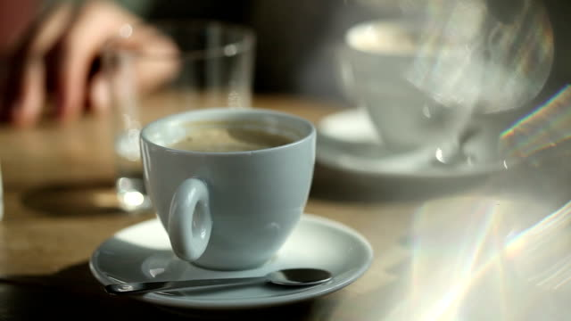 coffee break - table stock videos and b-roll footage