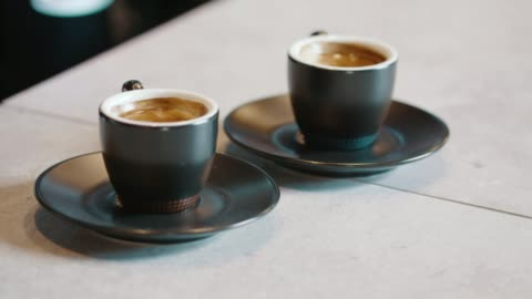 coffee break - two objects stock videos & royalty-free footage