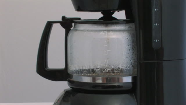 coffee brewing (timelapse) - preparation stock videos & royalty-free footage