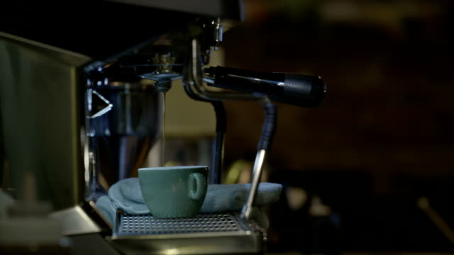 coffee cup and coffee maker - dishcloth stock videos & royalty-free footage