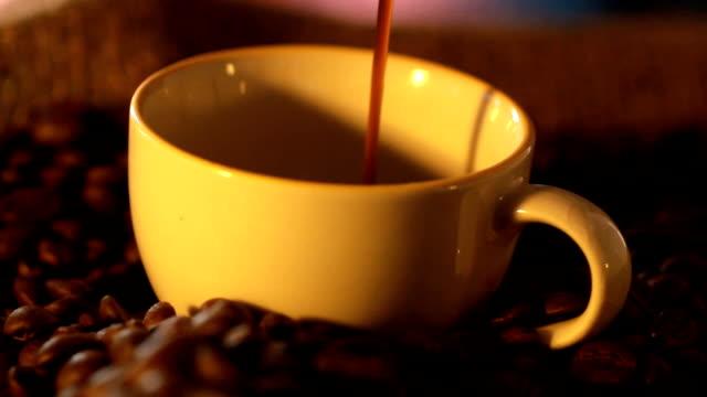 coffee cup - caffeine molecule stock videos & royalty-free footage