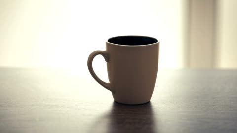 coffee hot cup - coffee cup stock videos & royalty-free footage