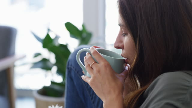coffee is the best start to the day - coffee break stock videos & royalty-free footage