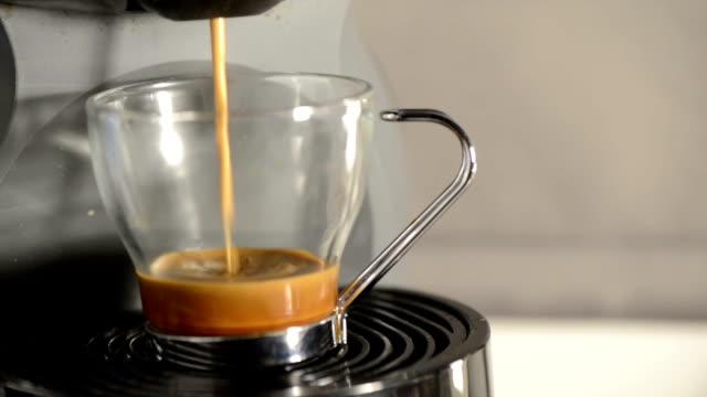 coffee machine - capsule stock videos & royalty-free footage