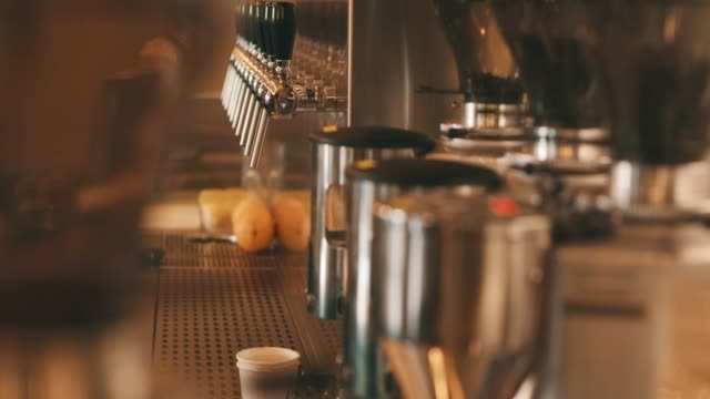 coffee machine - cafe culture stock videos & royalty-free footage