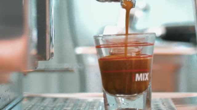 coffee machines - coffee drink stock videos & royalty-free footage