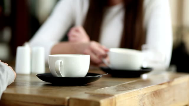 coffee meeting - coffee cup stock videos & royalty-free footage