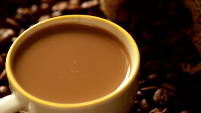 coffee mug - caffeine molecule stock videos & royalty-free footage