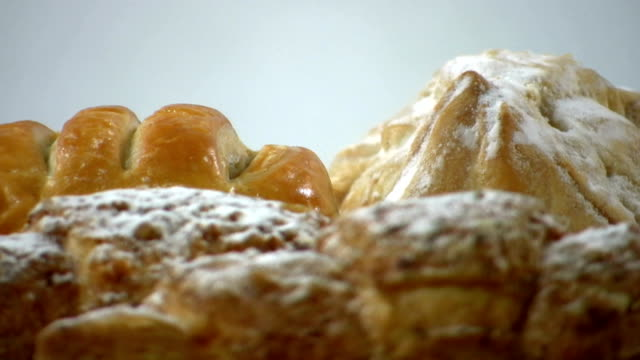 hd: coffee pastry - puff pastry stock videos & royalty-free footage