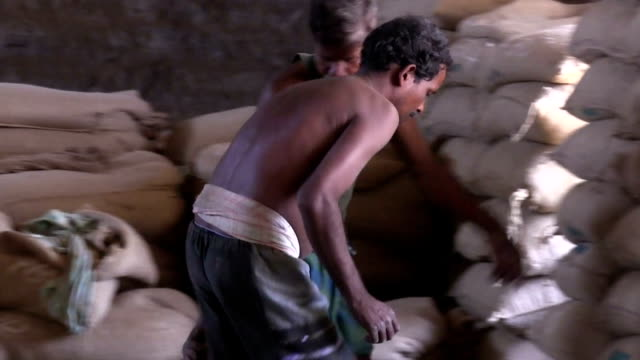coffee processing. - sack stock videos & royalty-free footage