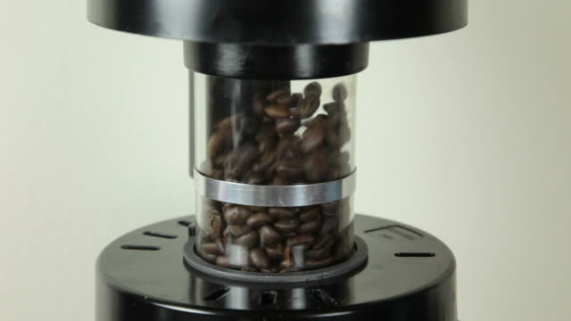 coffee roasting end - roasted stock videos & royalty-free footage