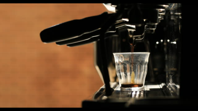 coffee shot - cafe macchiato stock videos and b-roll footage