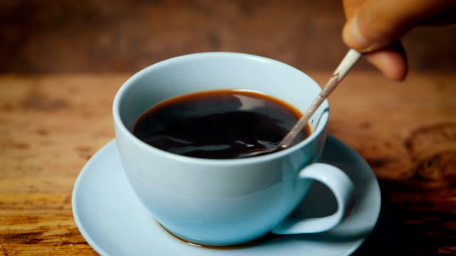 coffee time - stirring stock videos & royalty-free footage