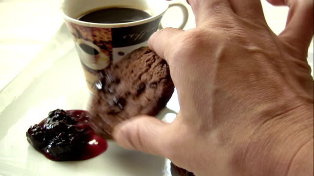 coffee time - cafe macchiato stock videos and b-roll footage