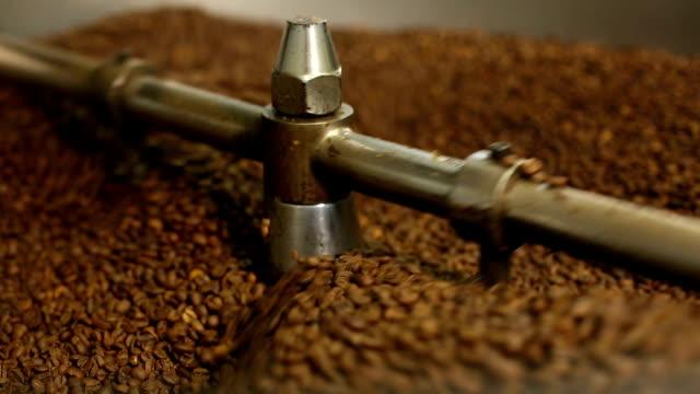 vídeos de stock, filmes e b-roll de café - grão de café