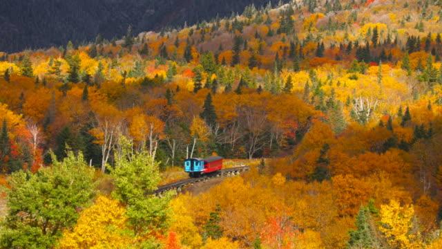Zahnradbahn Zug Klettern Mt Washington