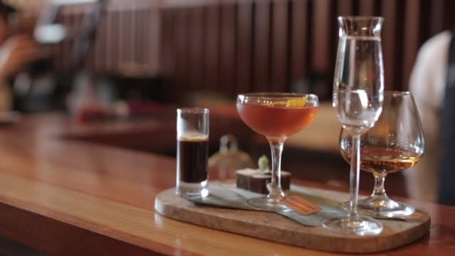 Cognac Cocktail Serving Board