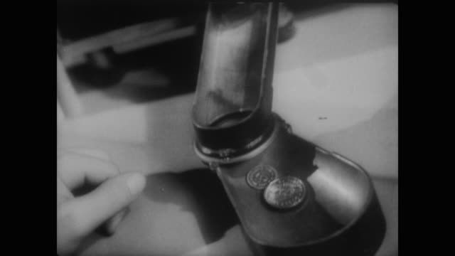 1940 coins and all their uses - money press stock videos and b-roll footage
