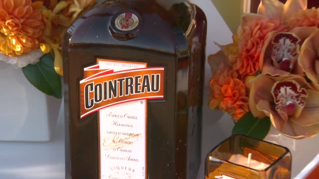 cointreau at cointreau and dita von teese launch cointreau poolside soirees in celebration of the beverly hills hotel's 100th anniversary in beverly... - beverly hills hotel stock videos and b-roll footage