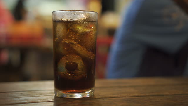 coke - drinking glass stock videos & royalty-free footage