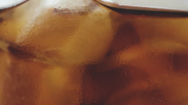 Cola Softdrink auf Eis