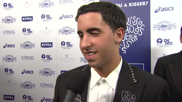 Colby O'Donis on being a kisser and a special one at that if he is kissing anyone at the moment who in Hollywood he would like to kiss and how soft...