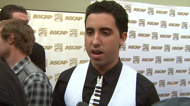 Colby O'Donis on the event his hit duet with Lady Gaga at the 26th Annual ASCAP Pop Music Awards at Hollywood CA