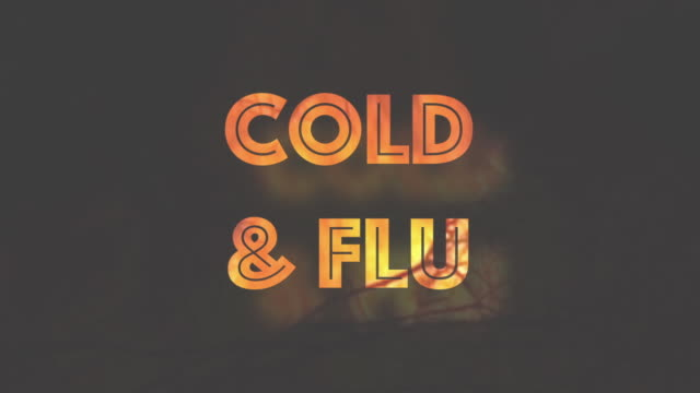 Cold and Flu illness infographic