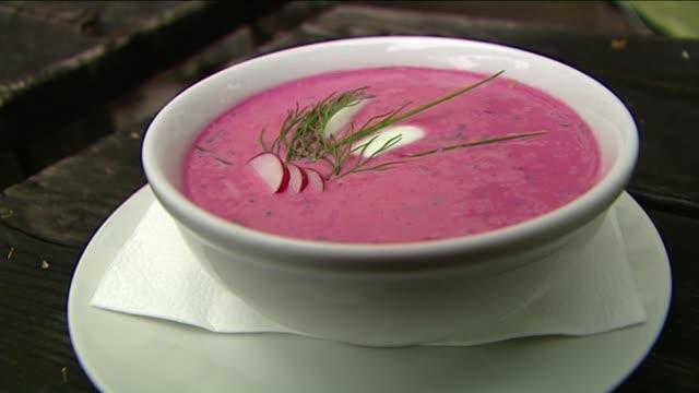 vidéos et rushes de cold borscht - radis