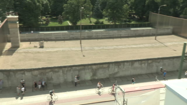 cold war wall, berlin - surrounding wall stock videos and b-roll footage