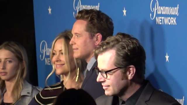 Cole Hauser Cynthia Daniel attend the Paramount Network launch party at Sunset Tower in West Hollywood in Celebrity Sightings in Los Angeles