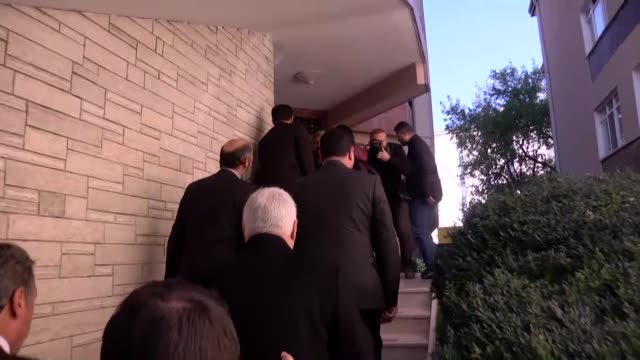 co-leader of the opposition peoples' democratic party selahattin demirtas pays a visit to the bureau of turkish newspaper cumhuriyet in ankara on... - trapped stock videos & royalty-free footage
