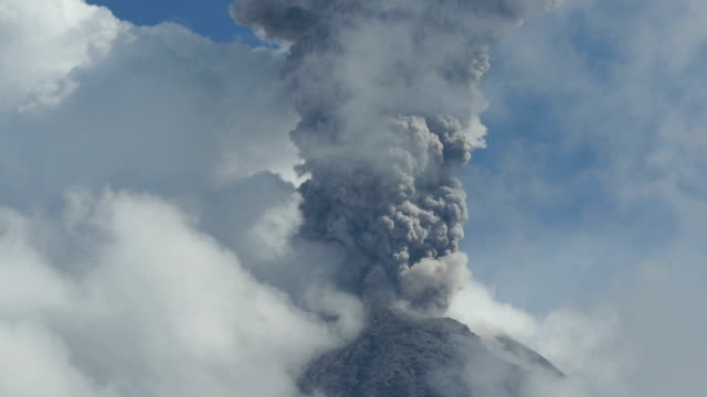 Colima explosive eruption