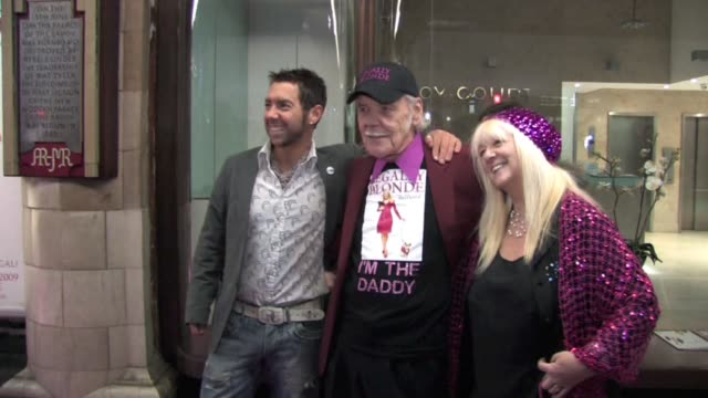 colin and marylin smith with guest at the celebrity video sightings in london at london england - sheridan smith stock videos & royalty-free footage