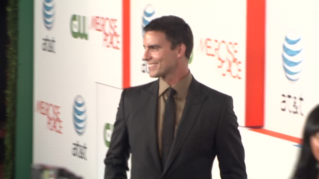 colin egglesfield at the 'melrose place' premiere party at west hollywood ca. - 肥皂劇 個影片檔及 b 捲影像