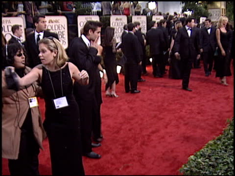 colin farrell at the 2003 golden globe awards at the beverly hilton in beverly hills, california on january 19, 2003. - colin farrell stock videos & royalty-free footage